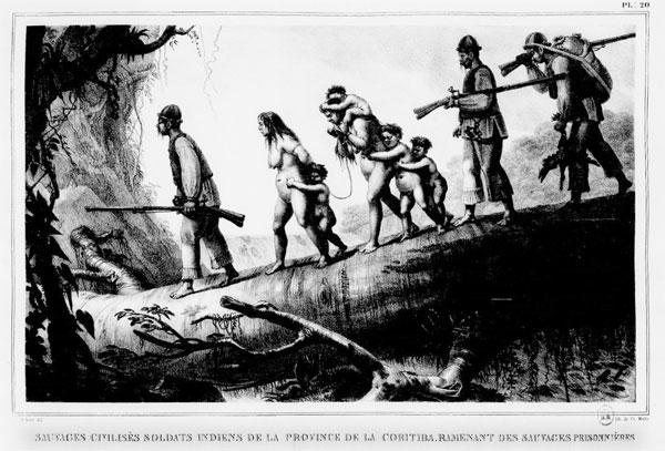 Índios e colonos no Brasil